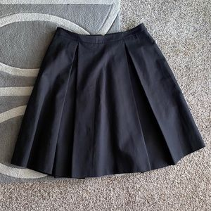 Vince Camuto A-Line Black Skirt 10